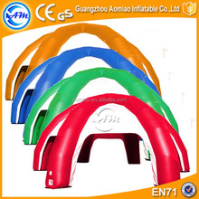 Color customized inflatable tentacle indoor outdoor inflatale tent
