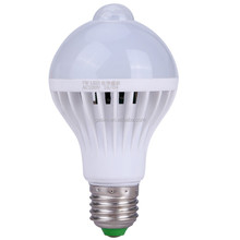 Microwave motion sensor 5w 1000 lumen 360 degree led bulb