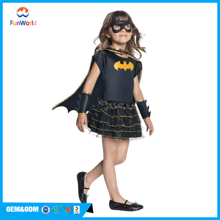 Superhero halloween costumes for kids francy anime girls dress cosplay costume