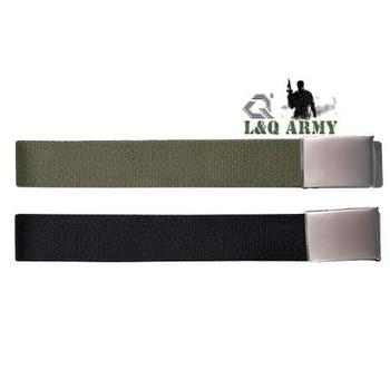 New Arrival Leisure Army Canvas Belts & sliding metal clasp