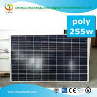 Photovoltaic solar modules 255W solar modules