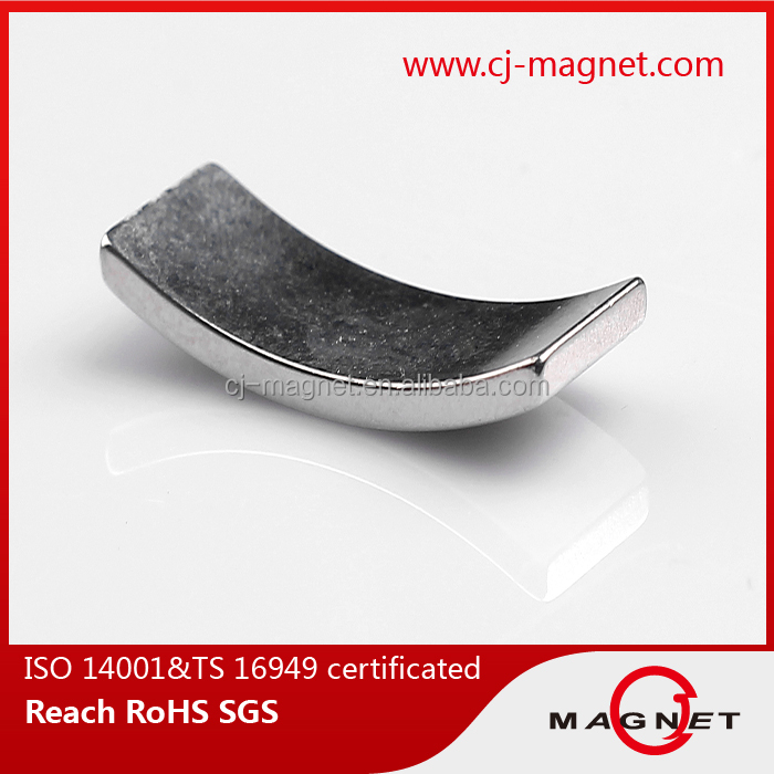 N50 Arc Shape and Permanent Type Wind Tubrine Magnet