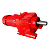 0.55kw R57 Ratio 56.89 B14 flange R series small helical gear reduction box power motor gear box