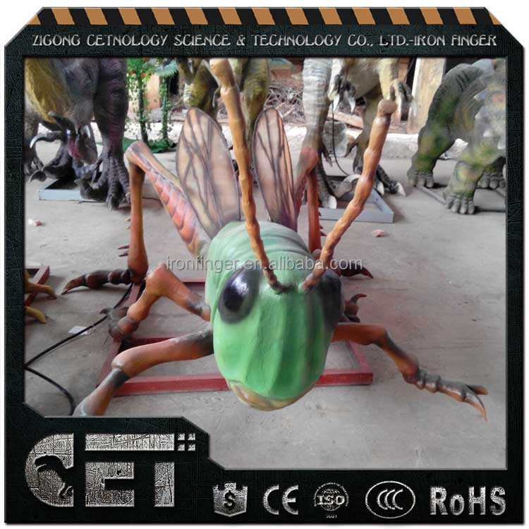 CET-A 420 realistic insects animal dragonfly insects animotronic insects beetles