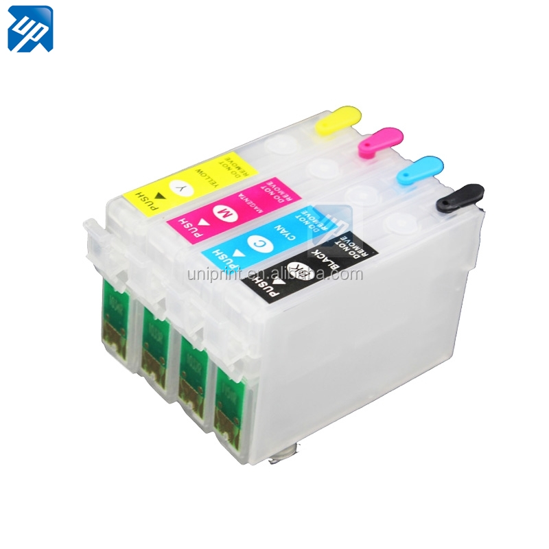 T1291 <strong>129</strong> empty Refillable ink cartridge for epson SX525WD SX620FW BX525WD BX305F SX420W,SX425W BX925FWD WF-3540DTWF SX420W