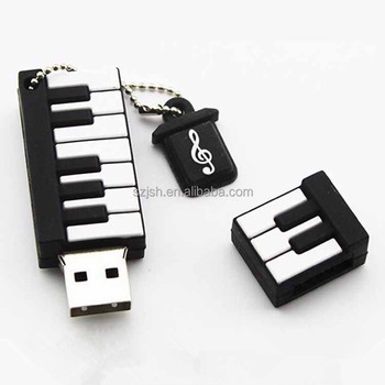 2017 Custom logo free sample 4gb 8gb 16gb 32gb 64gb usb disk piano usb flash drive for 1 dollar gift