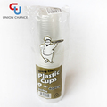 250ml Clear PP Plastic Cups