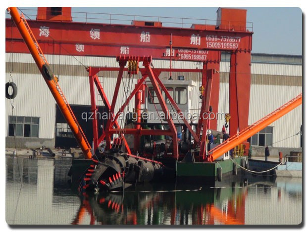 China 18 inch cutter suction dredger for sale