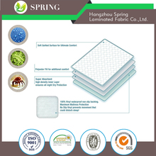 "Waterproof Crib Mattress Protector Pad Cover - Ultra-Soft Bamboo, Fitted Sheet with Large 9"" Skirt - Quilted, Washer/Dryer Frien"