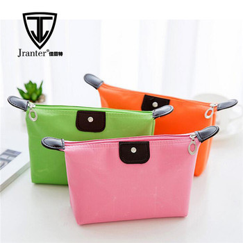 Hot sales colorful wholesale lady custom cosmetic bag travel makeup beauty bag
