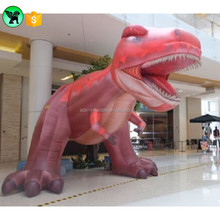 Red T-REX Inflatable dinosaur mascot 5m customized inflatable dinosaur Animal for event/ inflatable Dragon A837