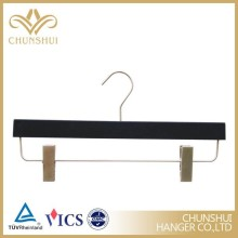 Custom High quality luxury Pants Hanger with Clips