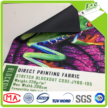 17% off digital printing new styles warp knitted blockout fabric