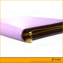 Hot selling A4 conference organiser manufacture PU leather cover portfolio file folder