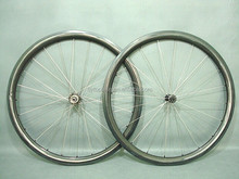 100% carbon fibre 38 inch wide carbon wheels carbon fat bike wheels with new style