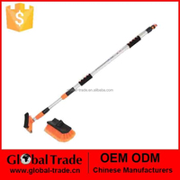 2M Telescopic Extending Water Fed Wash Brush Window Car Van Truck Brush 150046