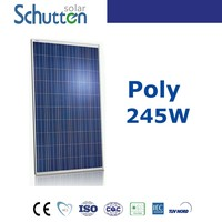 Best price 4BB poly 240W 250W 260w solar panel manufacturer in india