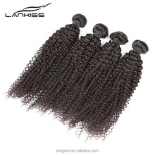 Hot Selling Good Feedback Malaysian Afro Kinky Curl Sew In Hair Weave Extension