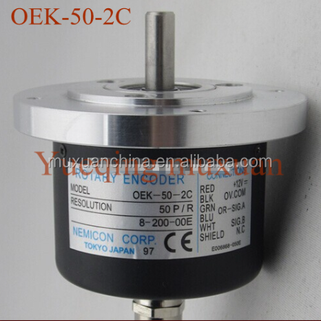 OEK-50-2C Increment Rotary Encoder Sensor Diameter Solid Shaft Type Optional Axis Diameter