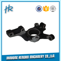 3 years warranty with ISO9001:2008 customized from casting factory Strong steering knuckle