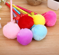Wholesale plush ball pen