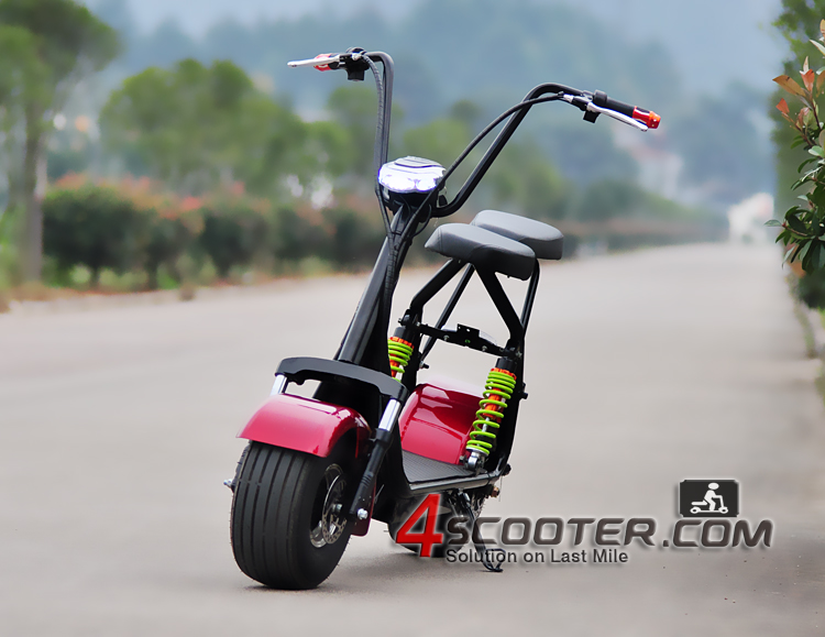 60v 800w1000w harley fat tire electric bicycle /citycoco fat tire electric scooter/ harley electric motorcycle