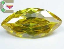 good quality diamond marquise cut cz loose zircon gemstone fake gems for decorating