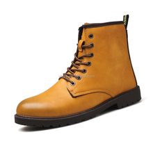 Wholesale Cheap Men High Top Boots Fashion Patent Leather Tooling Boots