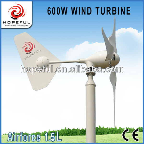 Green power 600w small wind generator for boat