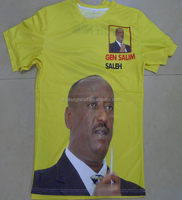 full size printed t-shirt for election campaign