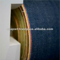100% Cotton Blue Yarn Dyed Jeans