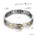 Stainless Steel Energy Magnetic Health Bracelet for Titanium Steel Bracelet
