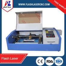 2016 new type 40W desktop small Co2 laser engraving cutting machine FL-K40D
