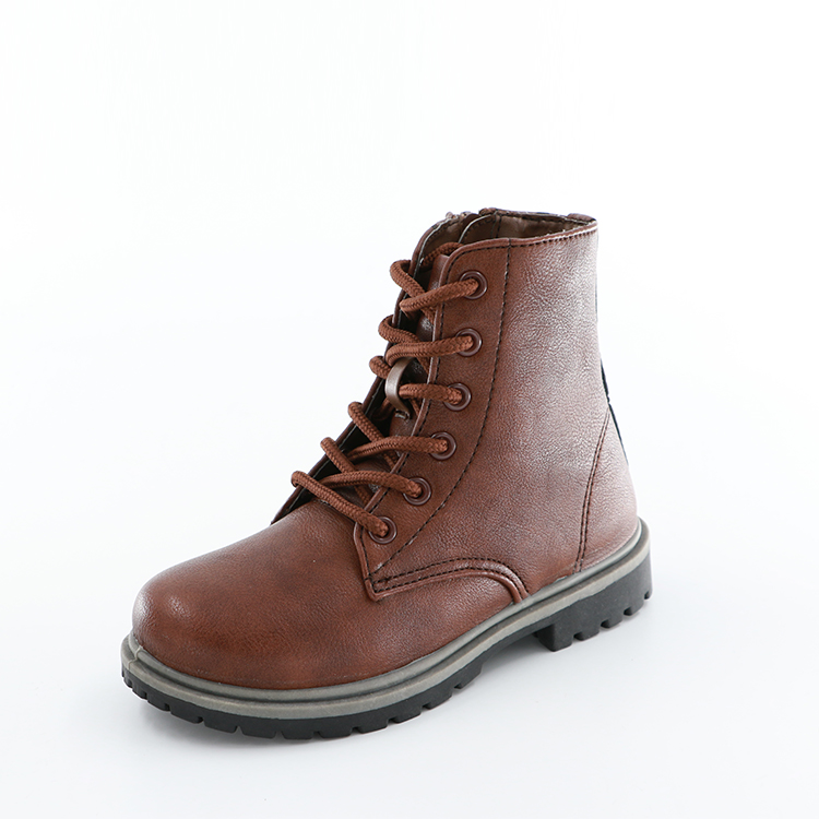 Spandex Fabric Boys Casual Ankle Boots