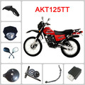 AKT125 TT motorcycle spare parts