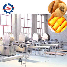 spring roll wrappers making machine / square or round spring roll sheet machine Whatsapp 0086 13503826925
