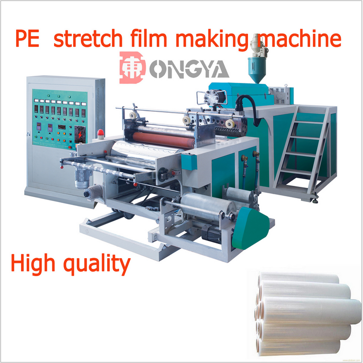 pvc cling casting film proof boardproduction line cling film machine,Stretch Film extruder,Cast Flow Film Making Machine