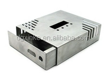 Hot selling metal aluminum stamping electronic cabinet part IP55 anti-rust anodized fabrication enclosure