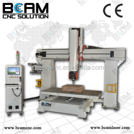 New design good quality woodworking engraving machine with 5 axis cnc woodworking router machine