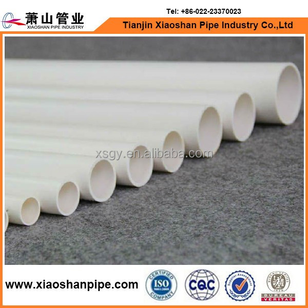 pvc pipe clip and pvc pipe price meter for water supply