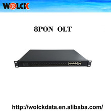 GEPON Terminal OLT 8PON FTTH Support Layer 3 Solution