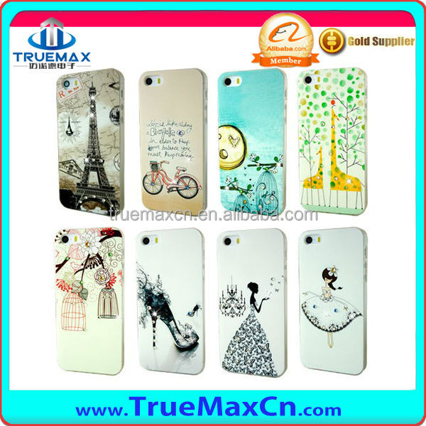Plastic Phone Case For iPhone 5 iPhone 5S