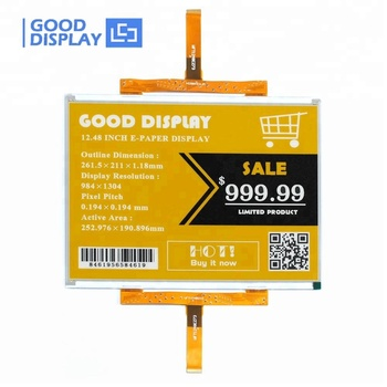 good display 12.48 inch 13 inch big color e ink display