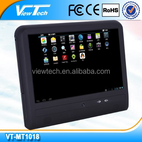 Smart portable 10.1 inch 3g android taxi ads player