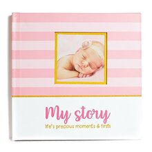 Eco-friendly tiny lovely memory book baby record book printing