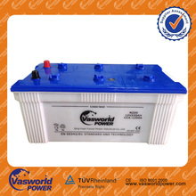 High Quality! 12 V Sealed dry charged lead acid car battery Korean 220ah car battery