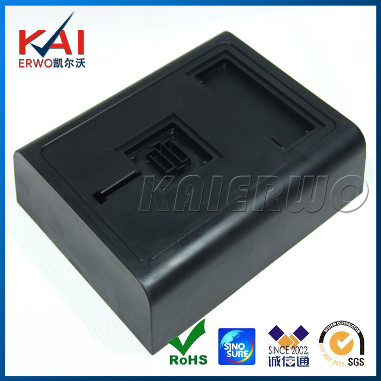 Cheap Custom Plastic Case Rapid Prototype made by silicone mold vacuum casting