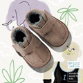 Littlebluelamb branded wholesale soft sole leather infant baby boots