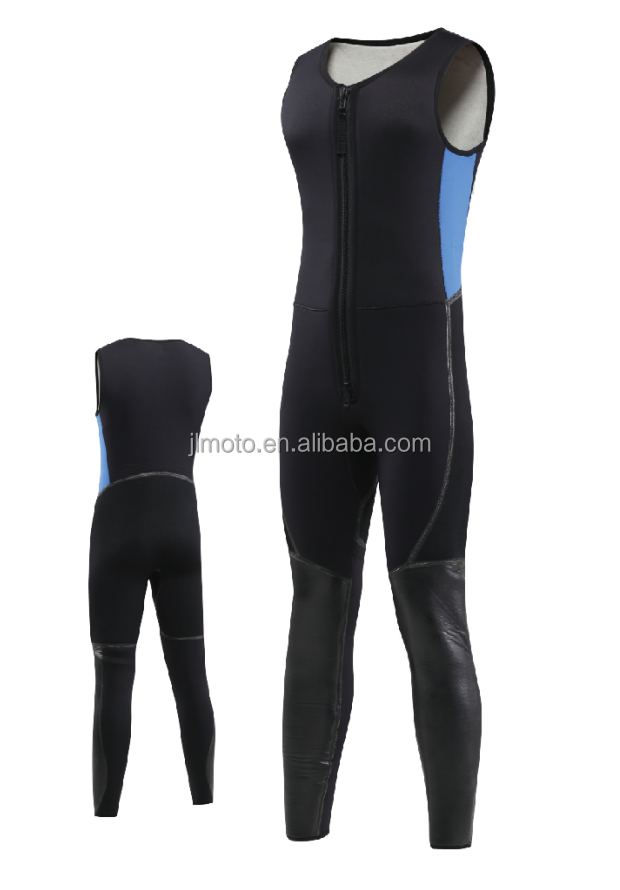 Neoprene sleeveless wetsuit for kayaking wet suits
