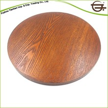 Discount vintage fancy round wood tray